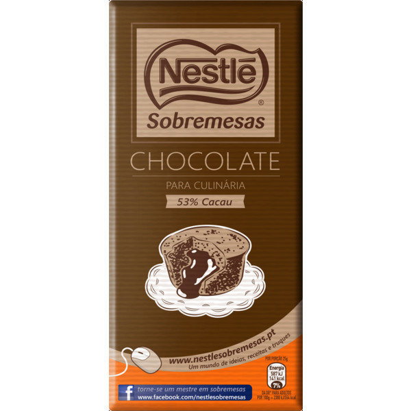 Chocolate Culinaria Nestle / Culinaire Chocolade Nestle 200gr